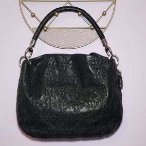 Lady Dior Soft Hobo in Black Cannage